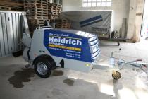 Bad Klosterlausnitz, Estrichmaschine, Heidrich Estrich Bau