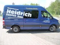 Sprinter 315 CDI, Heidrich Estrich Bau, Bad Klosterlausnitz