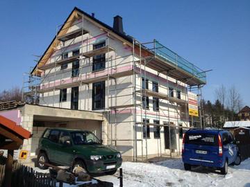 Einfamilienhaus, Heidrich Estrich Bau, Gera